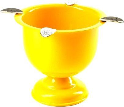 Stinky Aschenbecher gelb