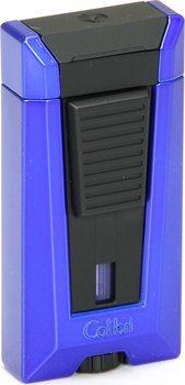 Colibri Stealth III Jet Feuerzeug dreiflammig blau metallic