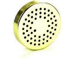Befeuchtungssystem mit rundem Schwammbefeuchter  gold