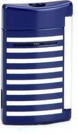 S.T. Dupont MiniJet 10105 Jet Feuerzeug Streifen blau/weiß
