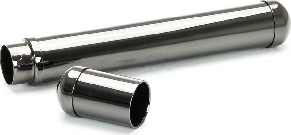 Corona Zigarrenetui für eine Zigarre gunmetal / grau