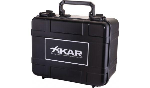 Xikar Reisehumidor aus Kunststoff in schwarz für 60 Zigarren