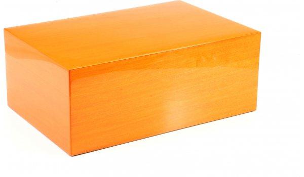 Gentili Humidor Orange 30 Zigarren