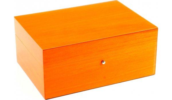 Gentili Humidor Orange 10 Zigarren