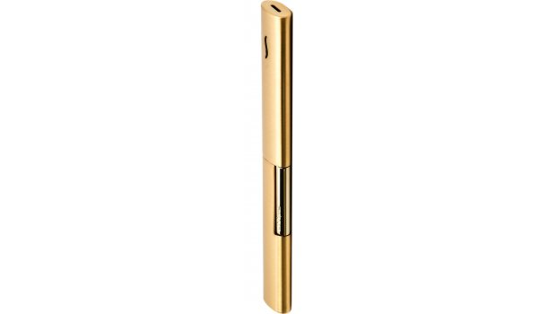 S.T. Dupont BQ The Wand Jet Feuerzeug gebürstet goldfarben