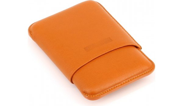 Martin Wess Zigarilloetui Orange