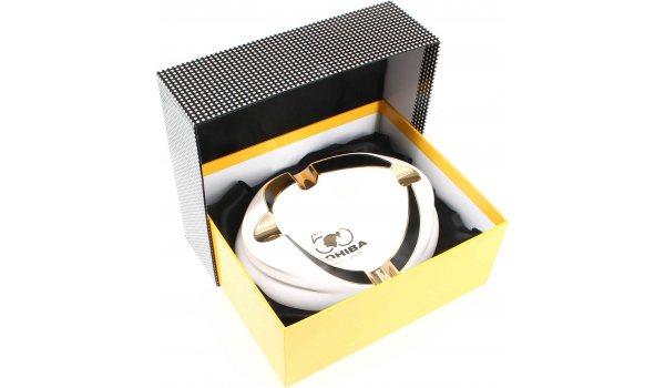Cohiba 50 Jahre Premium Zigarrenaschenbecher Weiß