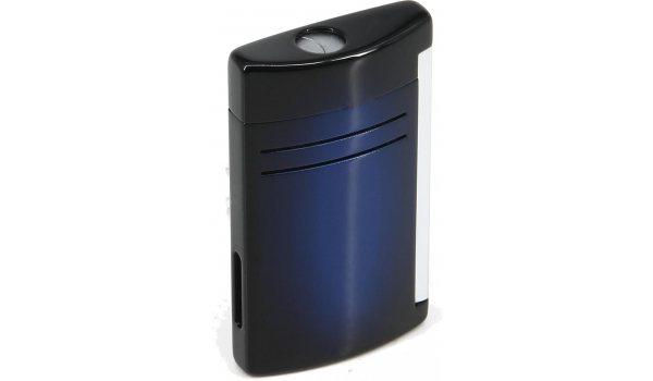 S.T. Dupont Maxijet Feuerzeug Blau Sunburst