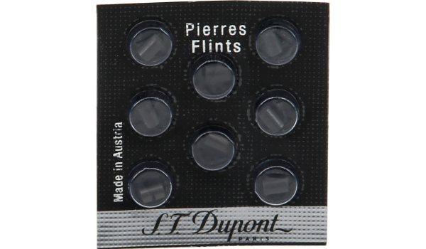 S.T. Dupont Feuersteine 8 Stück schwarz
