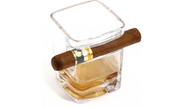 adorini Zigarren Rum & Whisky Glas Tumbler