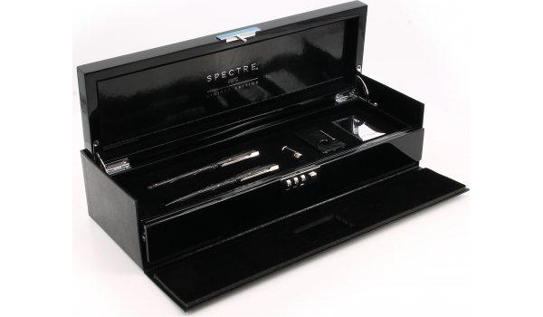 S.T. Dupont 007 Spectre Feuerzeug, Füller & Kugelschreiber Set Sammlerbox