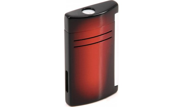 S.T. Dupont Maxijet Feuerzeug Braun Rot Farbverlauf