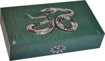Elie Bleu Mother-of-Pearl Snake begrenzte Auflage grüner Humidor (Nummeriert 1-8)