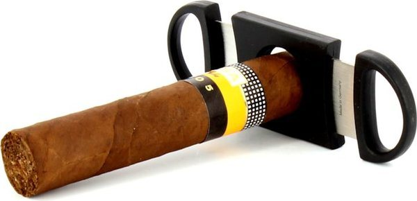 Zino Doppelklingen-Zigarrencutter schwarz Foto 8