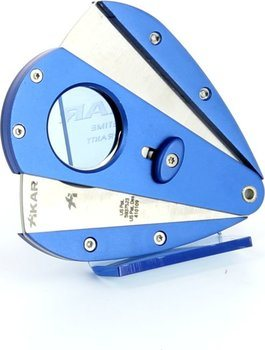Xikar 1 Doppelklingencutter - Xi1 blau