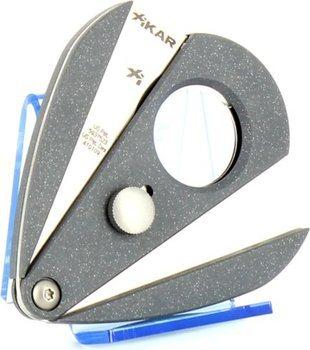 Xikar 2 Doppelklingencutter - Xi2 silber