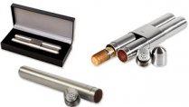 Zigarrenetuis aus Metall