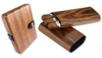 Holzkiste für Zigarren